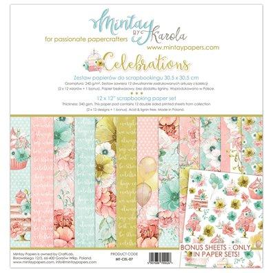 Mintay By Karola Celebrations Paper Pack