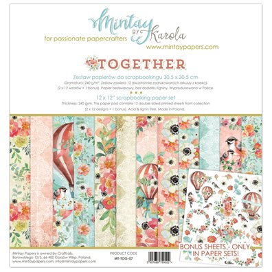Mintay By Karola Together Paper Pack