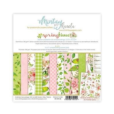 Mintay By Karola Springtime 6x6 Paper Pad