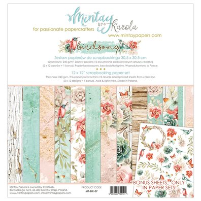 Mintay By Karola Birdsong Paper Pack