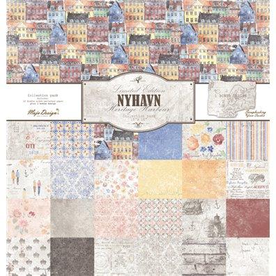 Nyhavn 12x12 Collection Pack fra Maja Design