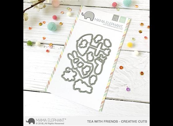 Mama Elephant Creative Cuts - Tea With Friends Dies
