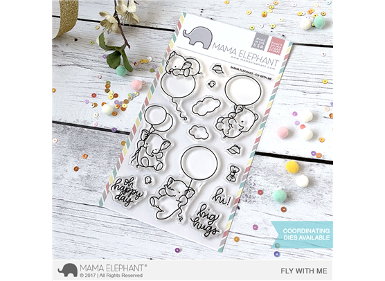 Mama Elephant Clear Stamps - Fly With Me