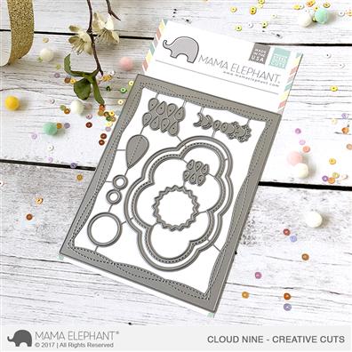Mama Elephant Creative Cuts - Cloud Nine Dies