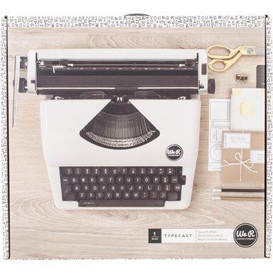 We R Memory Keepers Typecast Skrivemaskine - Hvid
