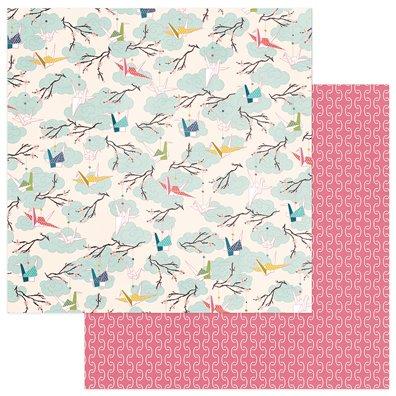 Paper Crane - Cranes mønsterpapir fra Photoplay