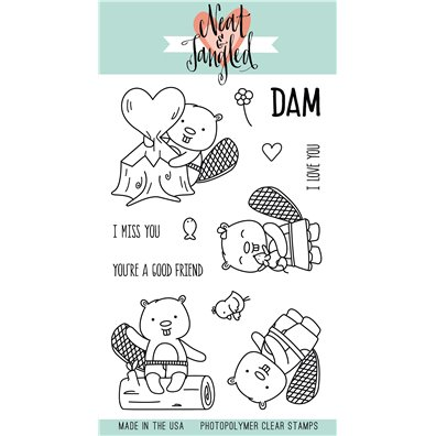 Neat & Tangled Clear Stamp - Beavers Eh