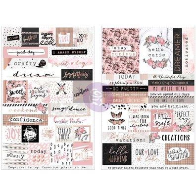 Amelia Rose Words & Quotes Stickers fra Prima