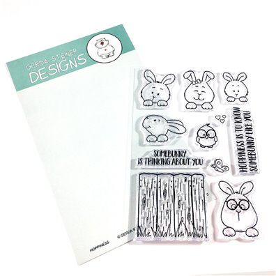 Gerda Steiner Design Clear Stamp - Hoppiness
