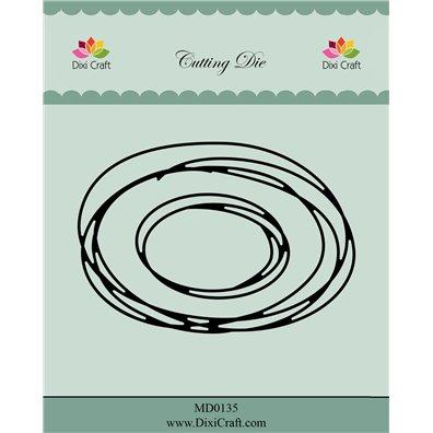 Dixi Craft Dies - Oval Sketch