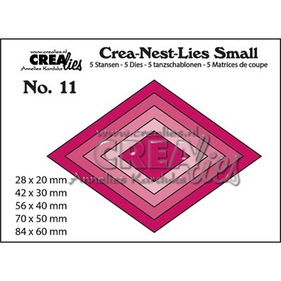 Crealies Dies - Ruder - Crea-Nest-Lies Small 11