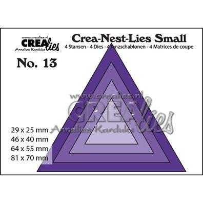 Crealies Dies - Trekant - Crea-Nest-Lies Small 13