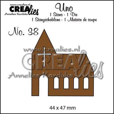 Crealies Dies - Kirke - Uno 38