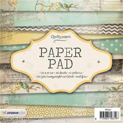 Studio Light 6x6 Paper Pad Mint