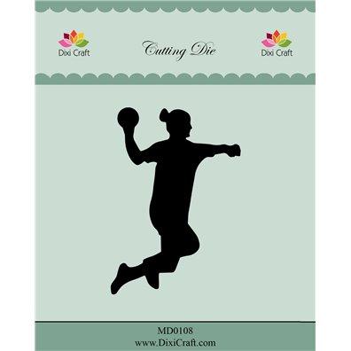 Dixi Craft Dies - Pige håndboldspiller