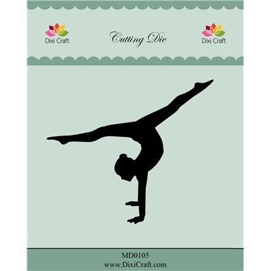 Dixi Craft Dies - Pige gymnast
