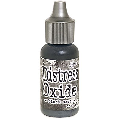 Distress Oxide Reinker - Black Soot
