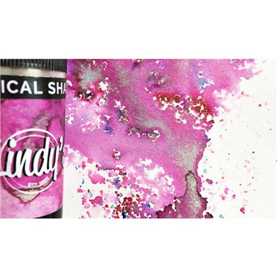 "Lindy's Stamp Gang - Magical Shakers ""Magnolia Magenta Gold"""