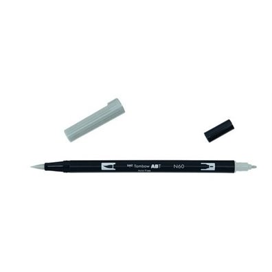 Tombow Dual Brush Pen - N60 Cool Gray 6