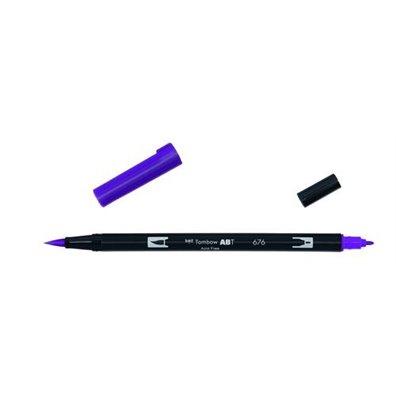 Tombow Dual Brush Pen - 676 Royal Purple