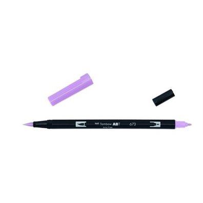 Tombow Dual Brush Pen - 673 Orchid