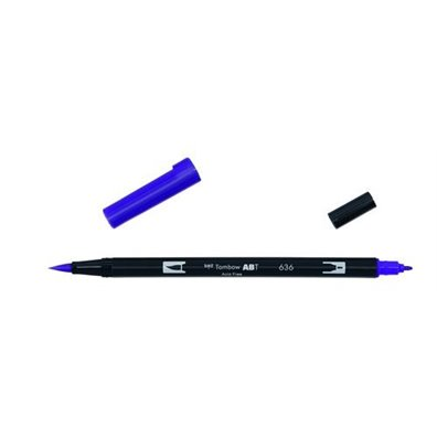Tombow Dual Brush Pen - 636 Imperial Purple