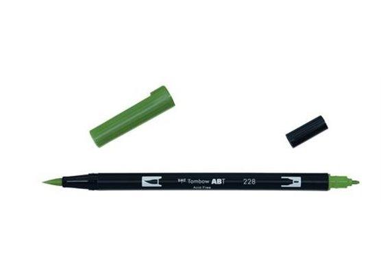 Tombow Dual Brush Pen - 228 Gray Green