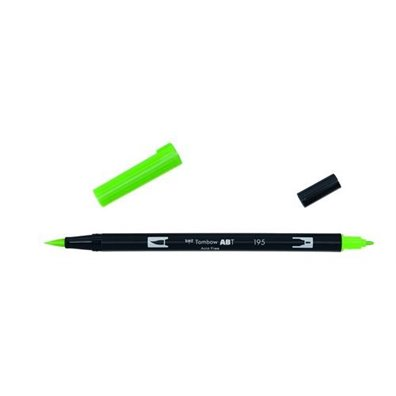 Tombow Dual Brush Pen - 195 Light Green