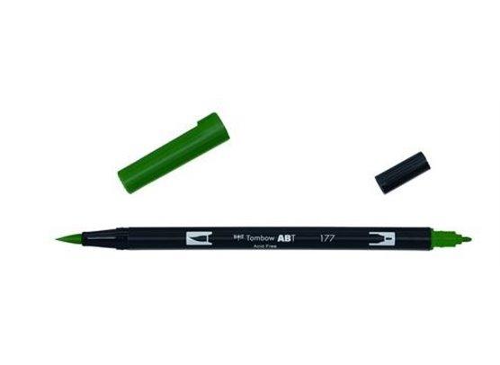 Tombow Dual Brush Pen - 177 Dark Jade