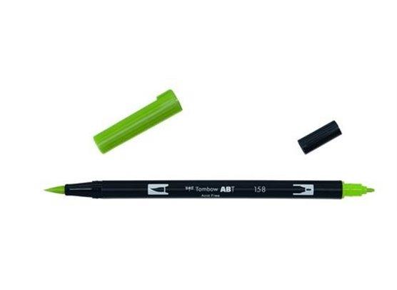 Tombow Dual Brush Pen - 158 Dark Olive