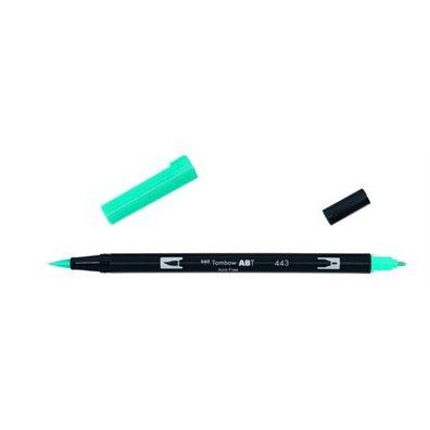 Tombow Dual Brush Pen - 443 Turquoise