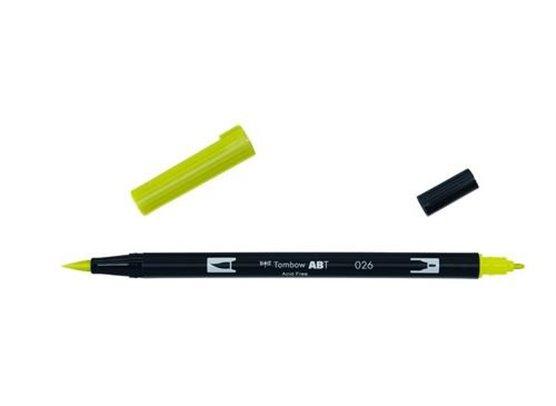 Tombow Dual Brush Pen - 026 Yellow Gold