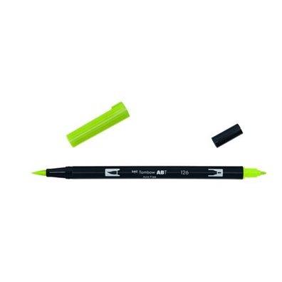 Tombow Dual Brush Pen - 126 Light Olive
