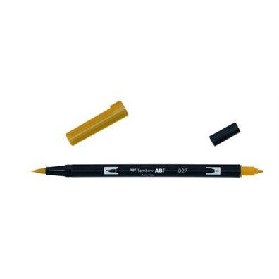 Tombow Dual Brush Pen - 027 Dark Ochre