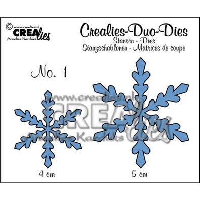Crealies Dies - Snefnug - Duo Dies 1