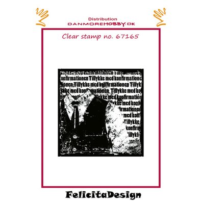 Felicita Design Clear Stamp - Konfirmation Dreng