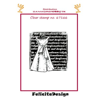 Felicita Design Clear Stamp - Konfirmation Pige