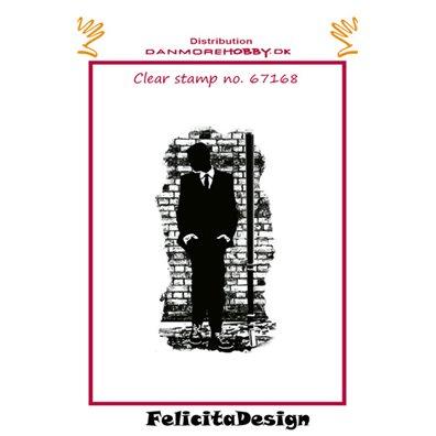 Felicita Design Clear Stamp - Stående dreng