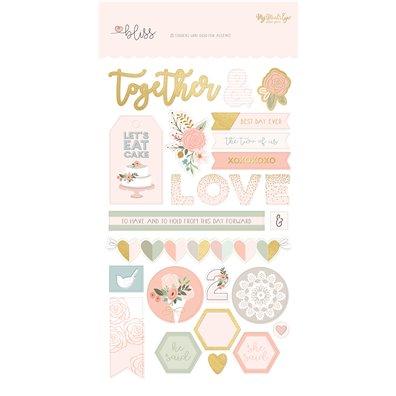 """Bliss 6""""x12"""" Sticker Sheet"""