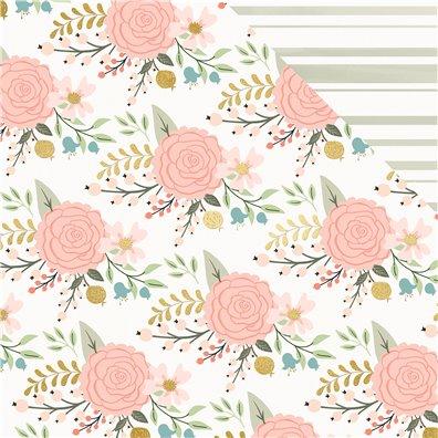 Bliss - Bouquet mønsterpapir fra My Minds Eye
