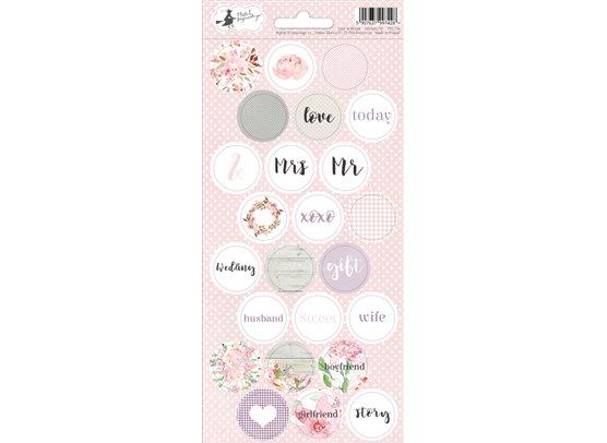 Piatek13 Love in Bloom - Stickers 03