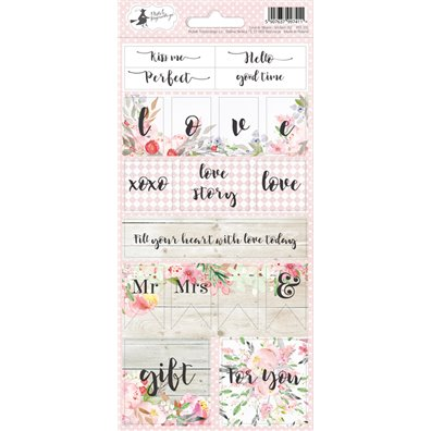 Piatek13 Love in Bloom - Stickers 02