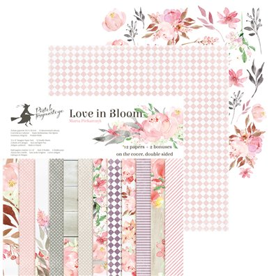"Piatek13 Love in Bloom 12""x12"" Paper Pad"