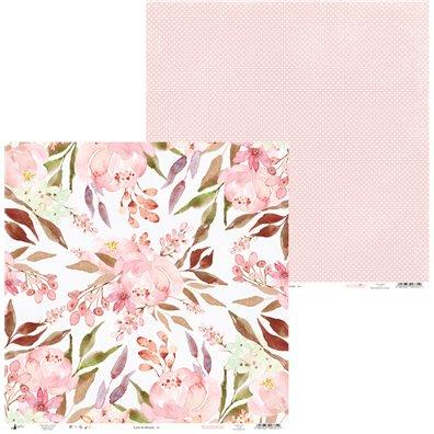 Love in Bloom - 01 - Mønsterpapir fra Piatek13