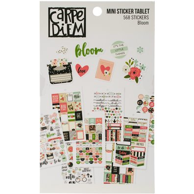 Bloom - Carpe Diem Mini Sticker Tablet