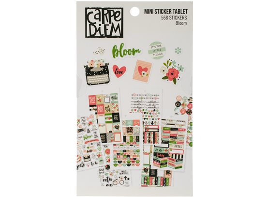 Bloom - Carpe Diem Mini Sticker Tablet