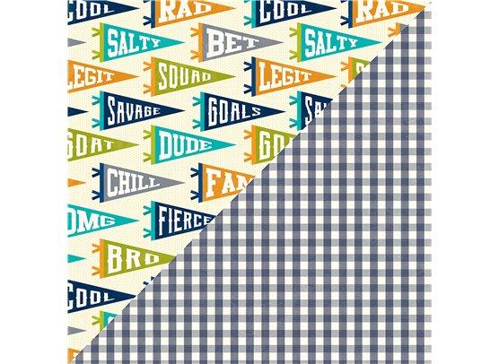 2 Cool For School - Too Legit mønsterpapir fra Jillibean Soup