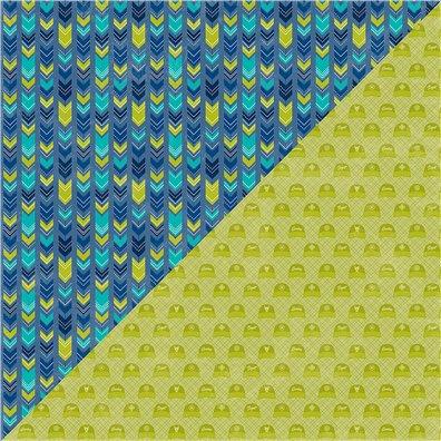 2 Cool For School - Wild Child mønsterpapir fra Jillibean Soup