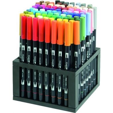 Tombow ABT Dual Brush Desk Set