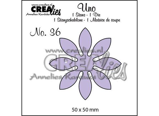 Crealies Dies - Uno Die 36 - Blomst